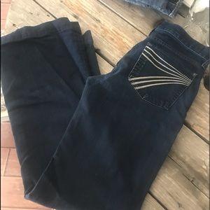 7 FAM jeans